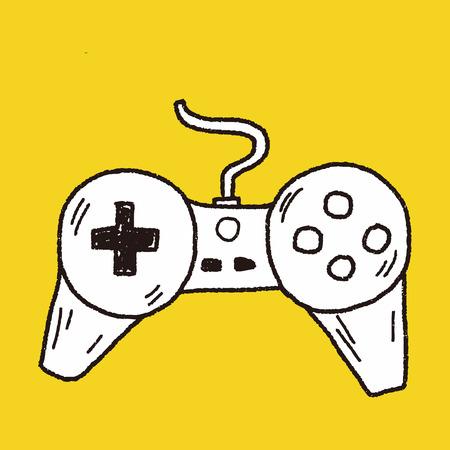 game controller: doodle game controller