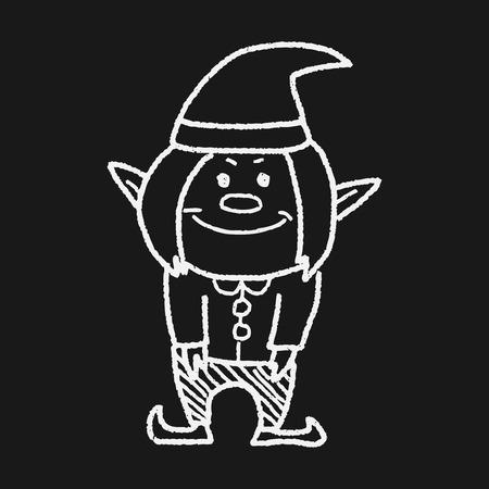elfs: elf doodle