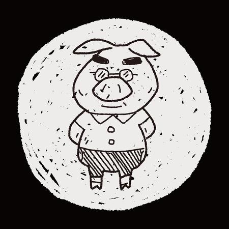 three little pigs: three little pigs doodle