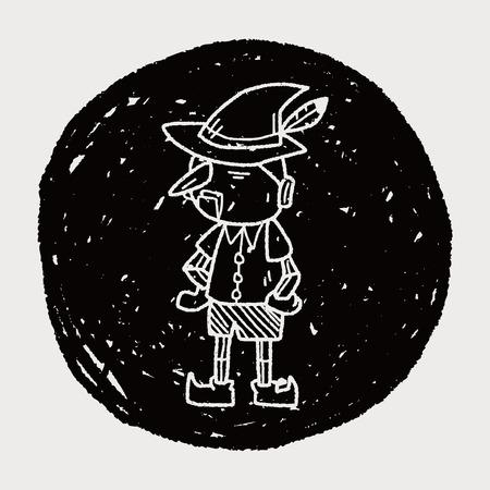 pinocchio: pinocchio doodle