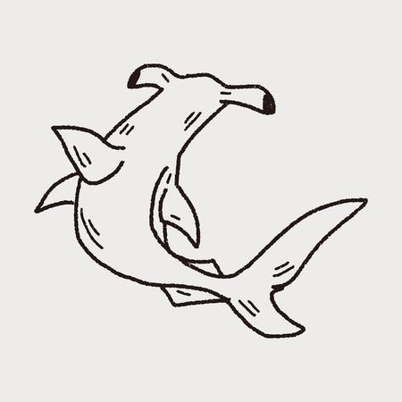 hammerhead: Squalo martello Doodle