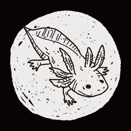 salamander: salamander doodle