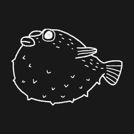 puffer: Puffer doodle
