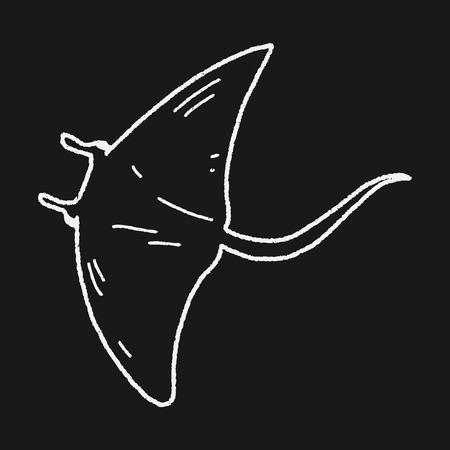 stingrays: Stingray doodle