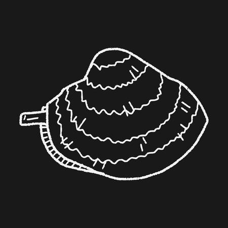 clam: clam doodle Illustration