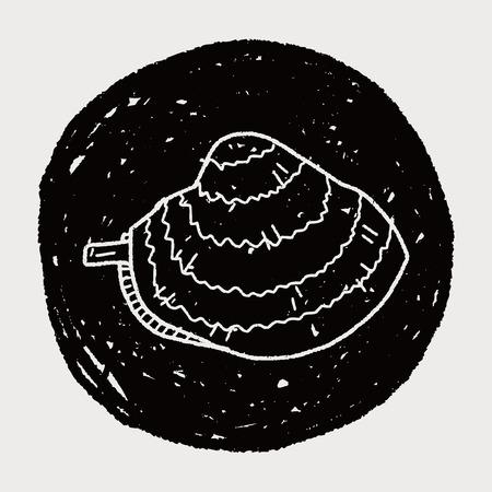 palourde: palourdes doodle
