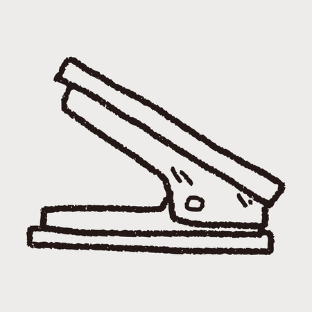 stapling: Stapler doodle