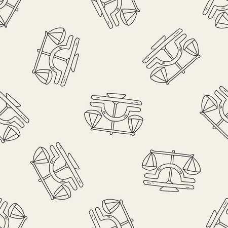 predicting: libra Constellation doodle seamless pattern background