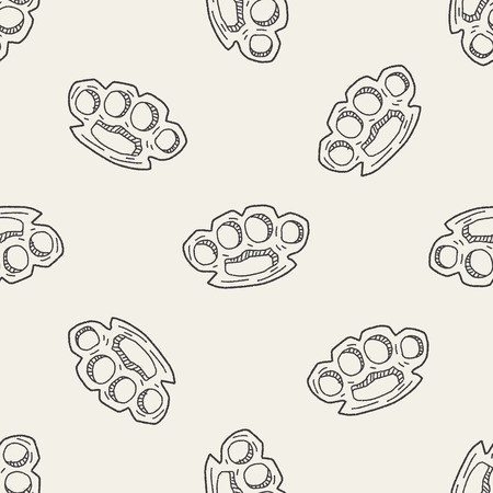 knuckles: Knuckles doodle seamless pattern background