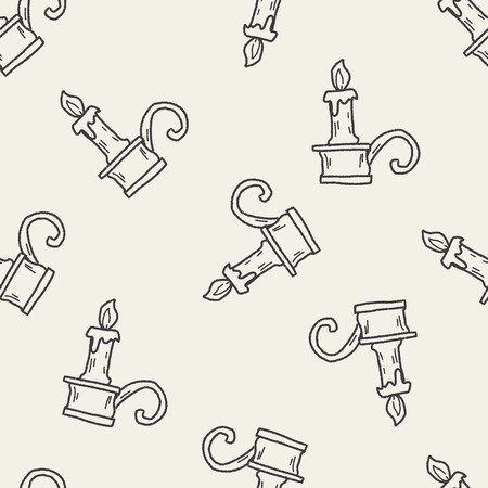 candlestick: candlestick doodle seamless pattern background