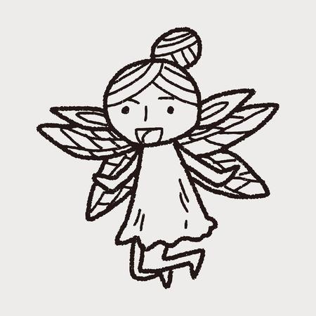 fairy: fairy doodle
