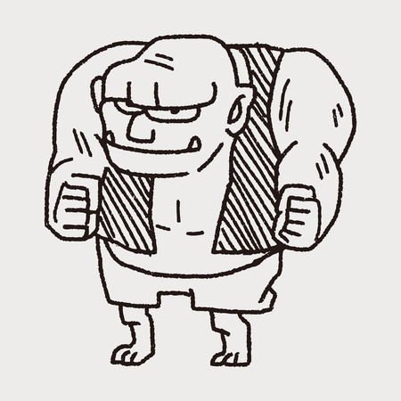 ogre: giant ogre doodle
