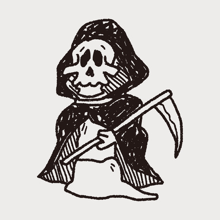 grim: Grim Reaper doodle