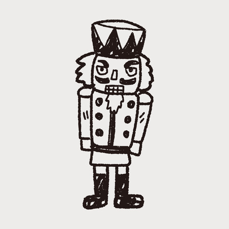 toy soldier: toy soldier doodle