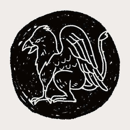 griffon: griffin doodle