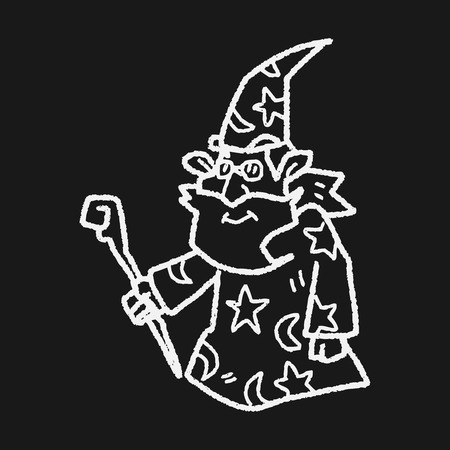 sorcery: wizard doodle