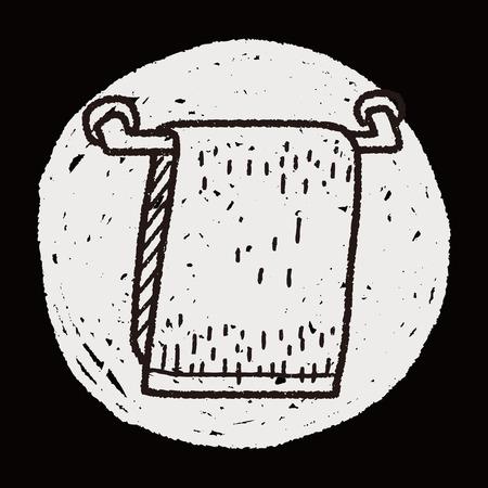 hand rails: towel doodle