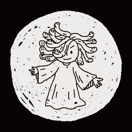 medusa: Medusa doodle
