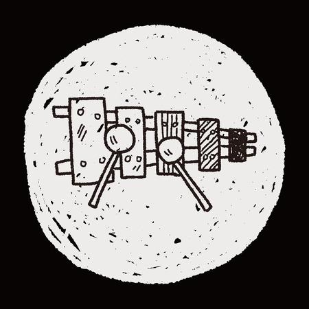 xilofono: Doodle xil�fono