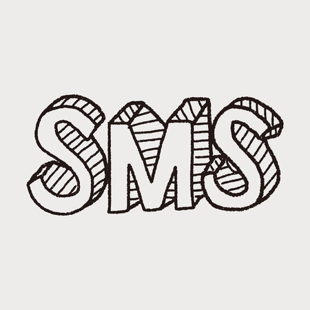 sms: sms doodle