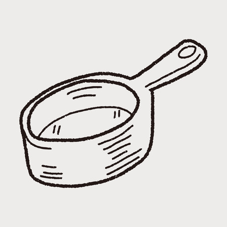 bucket: bucket doodle