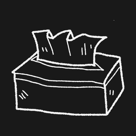 facial tissue: facial tissue doodle