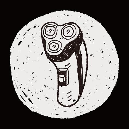 rasoir: rasoir doodle