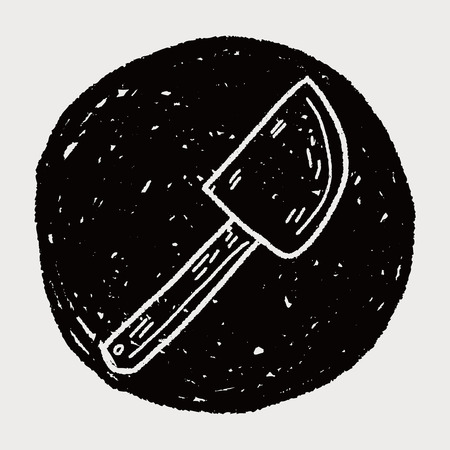 batidora: Doodle batidor hornear Vectores