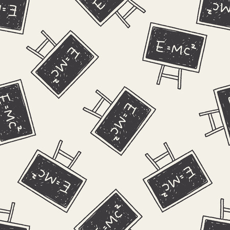 mc2: e mc2 doodle seamless pattern background