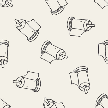 facial tissue: facial tissue doodle doodle seamless pattern background