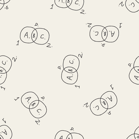 bussiness: bussiness chart doodle drawing seamless pattern background