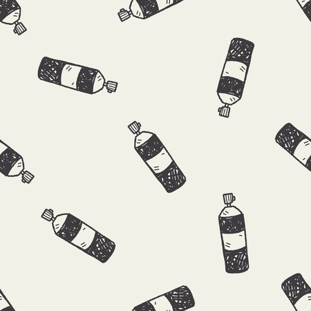insecticide: Insecticide doodle seamless pattern background