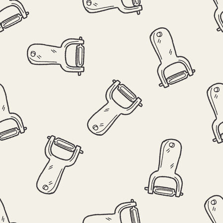 peeler: peeler doodle seamless pattern background