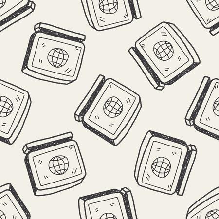 keywords backdrop: computer doodle seamless pattern background