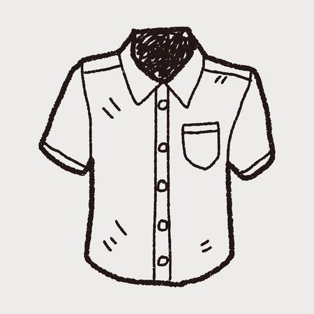 sleeved: shirt doodle