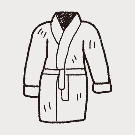 back pocket: bathrobe doodle