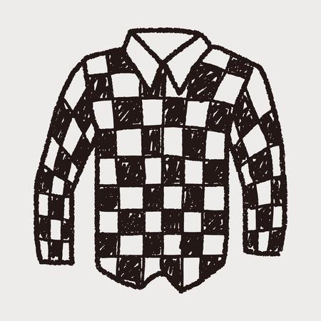 long sleeved: shirt doodle