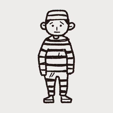 carcel: doodle de la cárcel