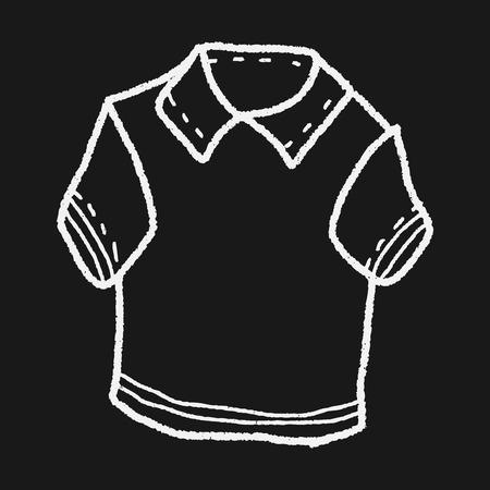 polo: polo shirt doodle