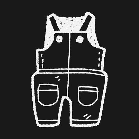 ropa de beb�: ropa del beb� del doodle