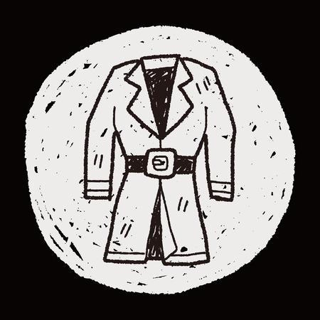 overcoat: overcoat doodle