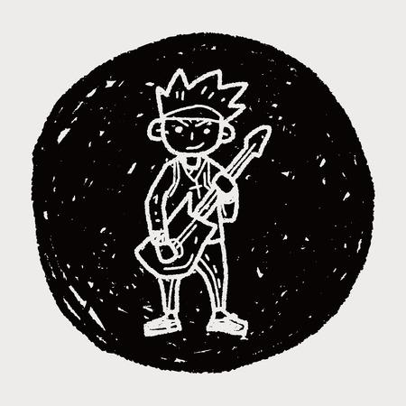 bass player: rocker doodle