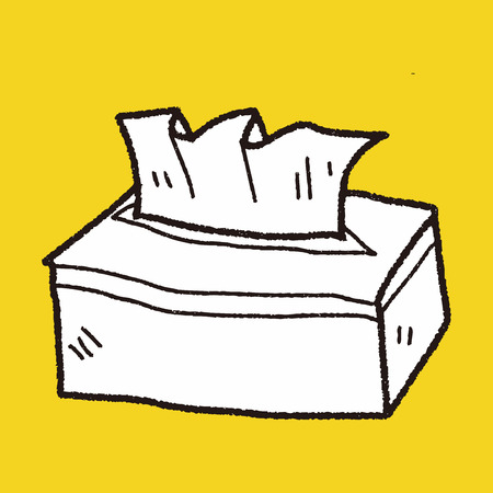 soft tissues: facial tissue doodle