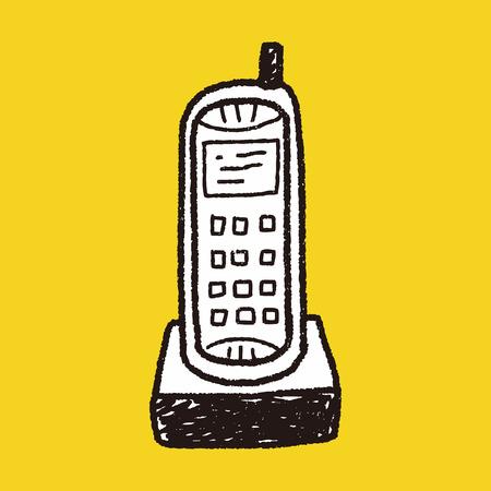 telephone: telephone doodle