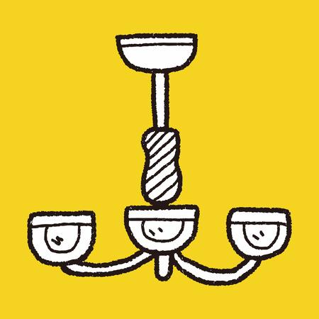 hanging lamp: hanging lamp doodle