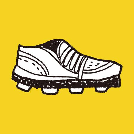 sport shoe: sport shoe doodle