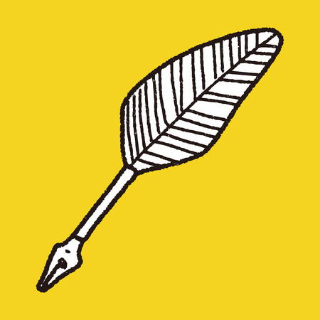 quill: Quill doodle