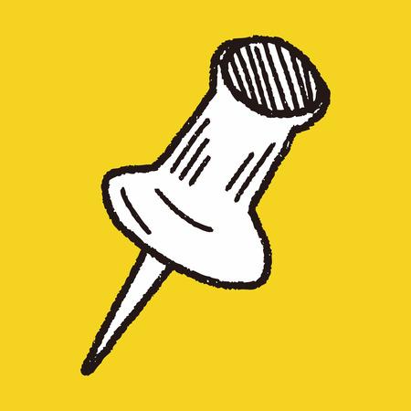 pushpin: doodle pushpin