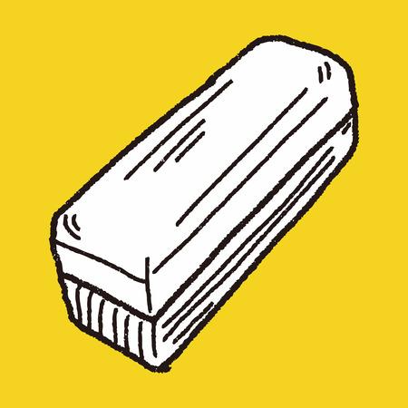 dry erase: whiteboard eraser doodle