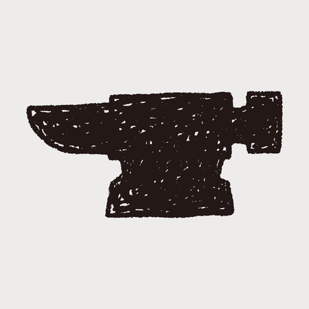 blacksmith: blacksmith doodle Illustration
